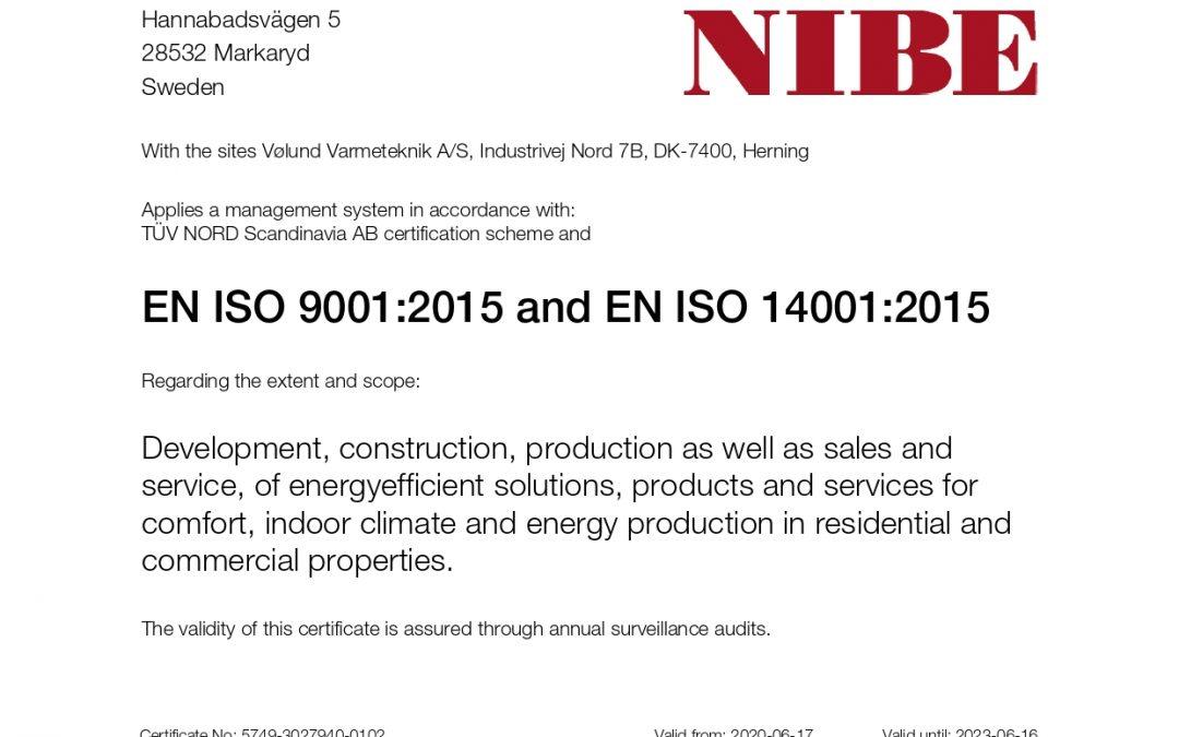 I prodotti NIBE: una garanzia