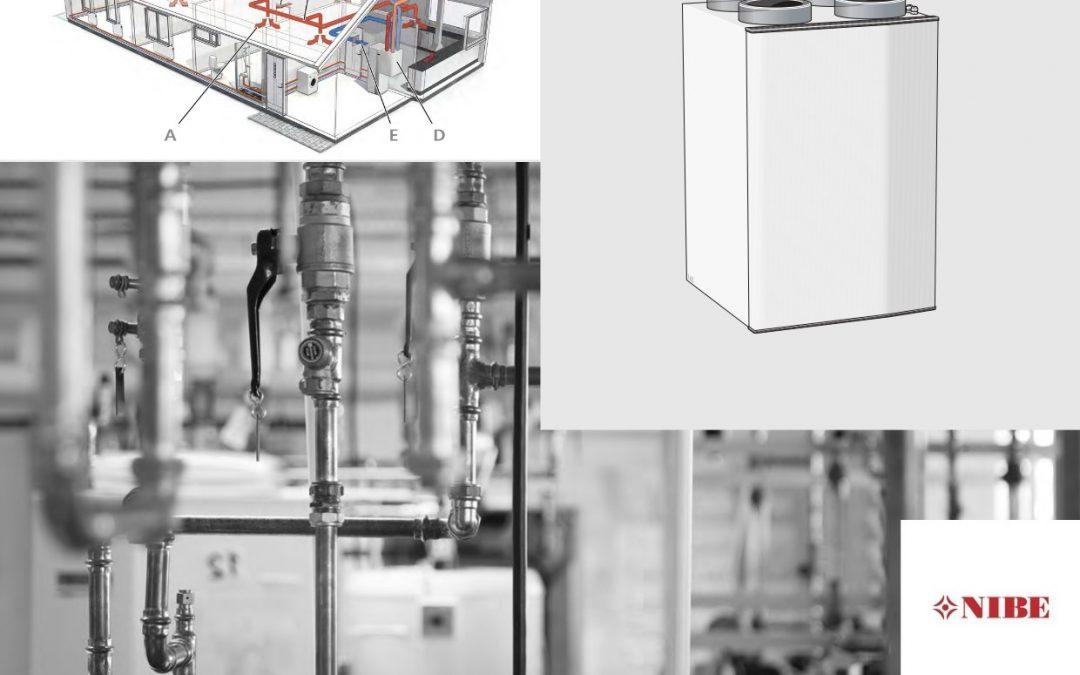Ventilazione meccanica controllata NIBE